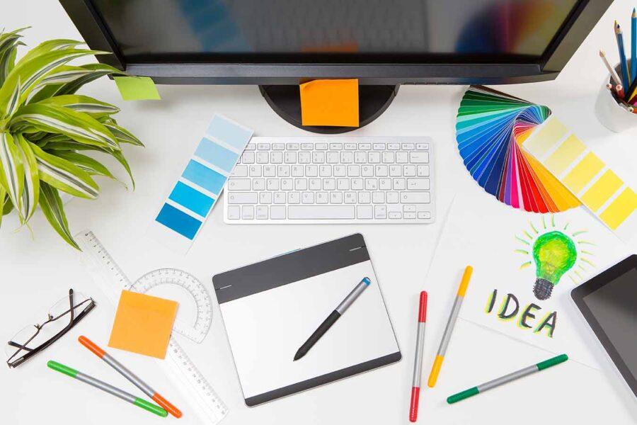 La importancia del color en el diseño gráfico y web